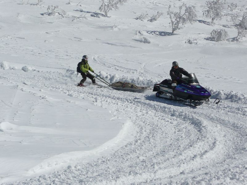 2009 雪崩遭難救助訓練 61