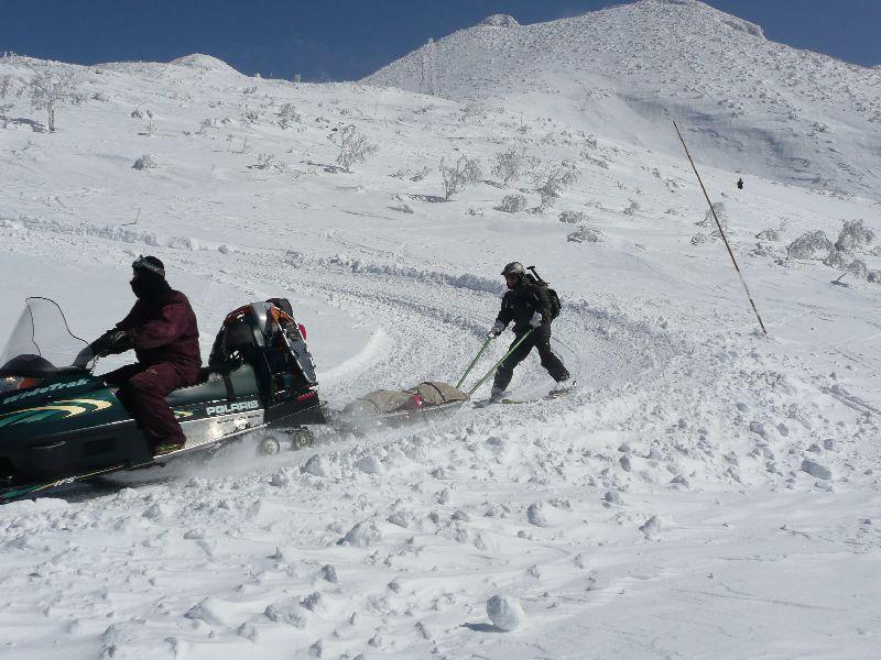 2009 雪崩遭難救助訓練 64