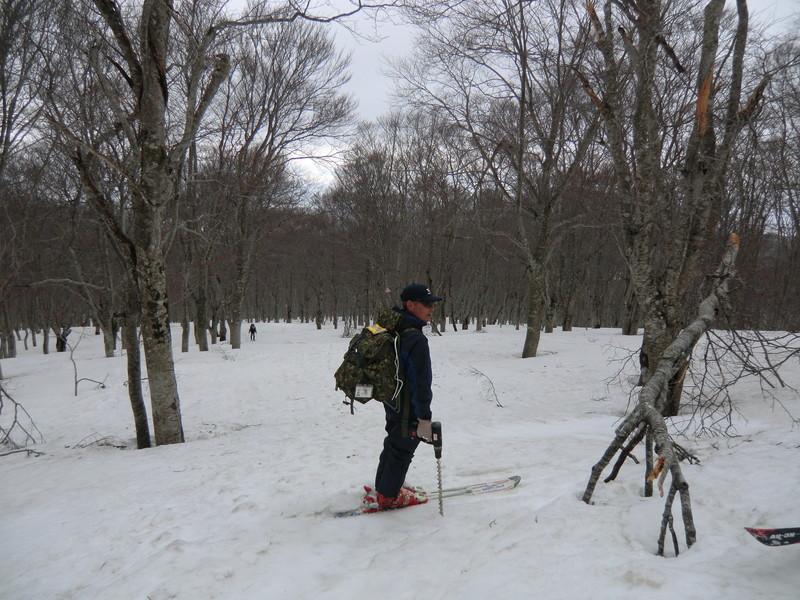 2011年岩木山春スキー 7
