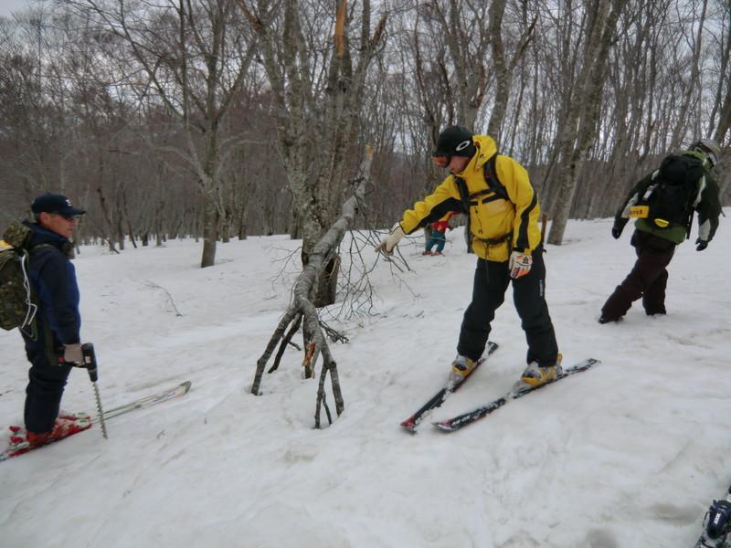 2011年岩木山春スキー 8