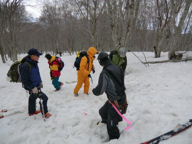 2011年岩木山春スキー 9