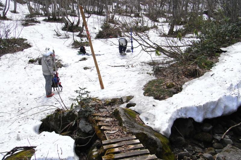2011年岩木山春スキー 44