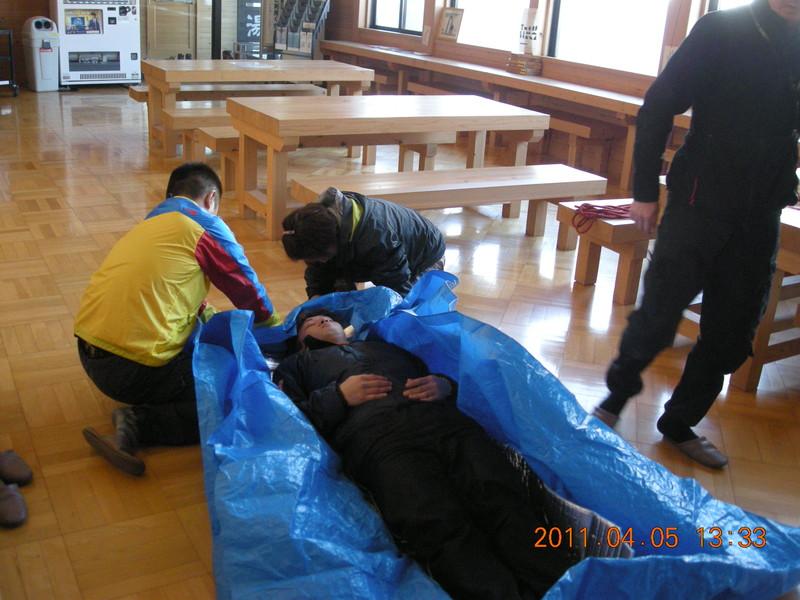 2011年岩木山春スキー 52