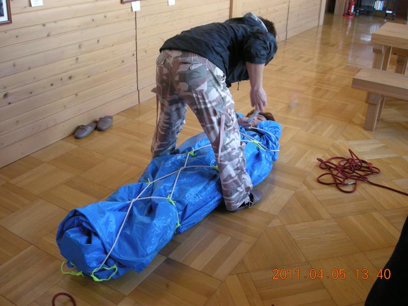 2011年岩木山春スキー 53