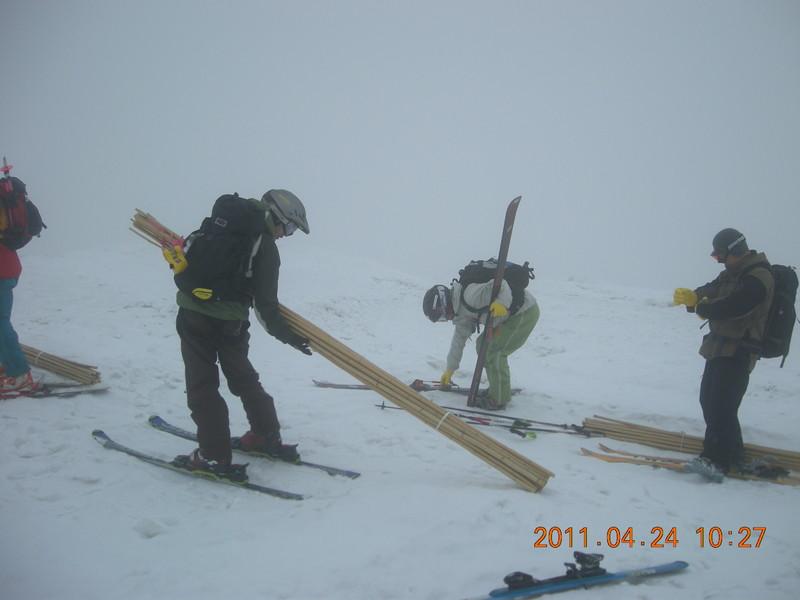 2011年岩木山春スキー 55