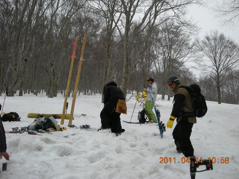 2011年岩木山春スキー 59