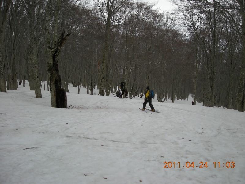 2011年岩木山春スキー 60
