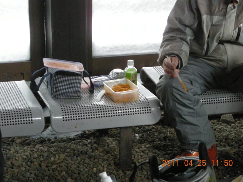 2011年岩木山春スキー 69