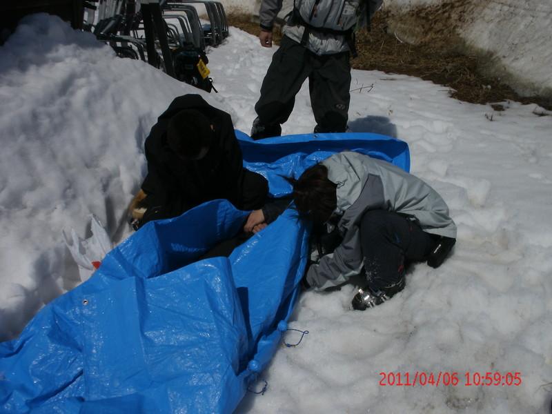 2011年岩木山春スキー 73