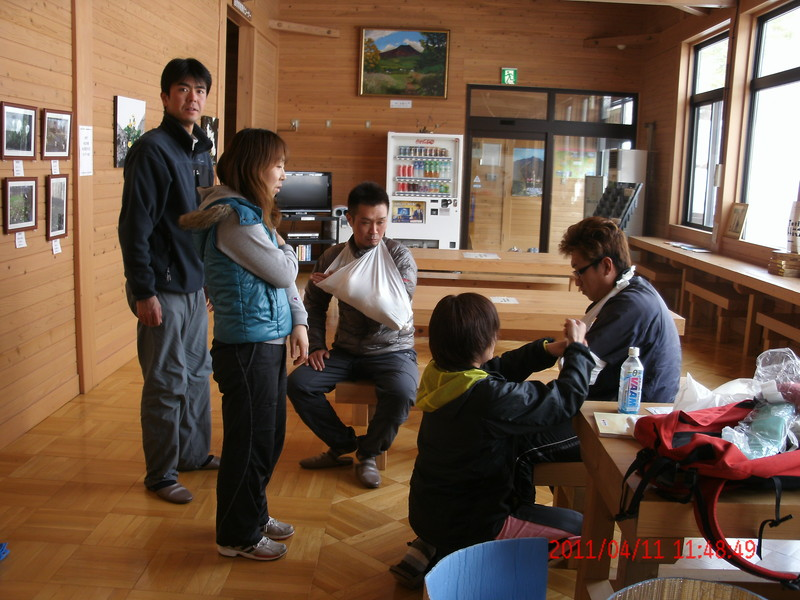 2011年岩木山春スキー 82