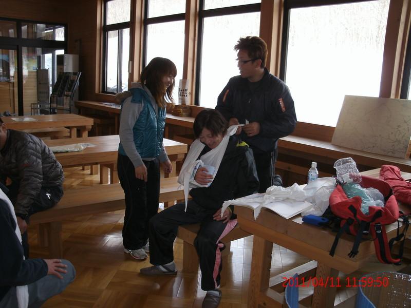 2011年岩木山春スキー 83