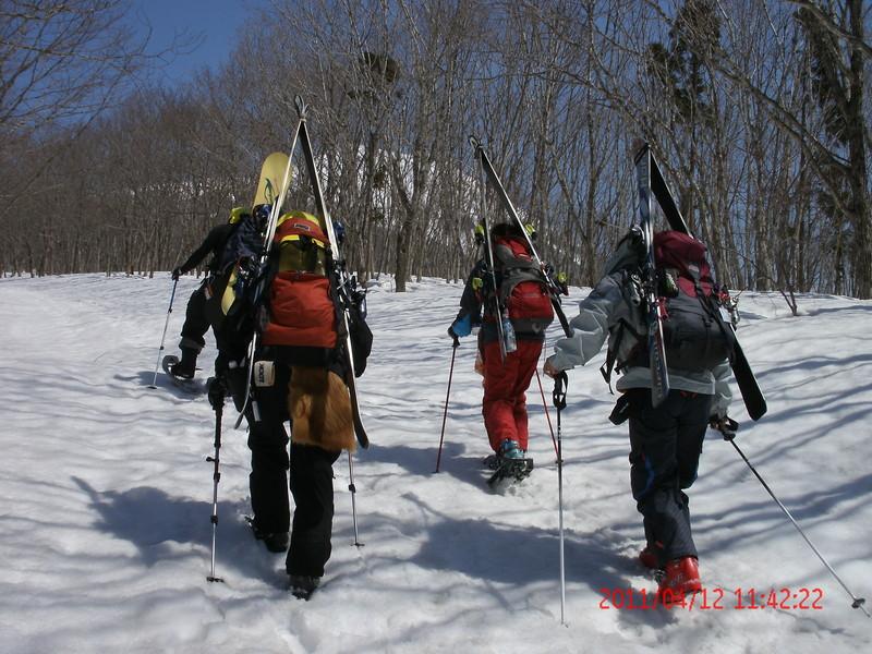 2011年岩木山春スキー 87