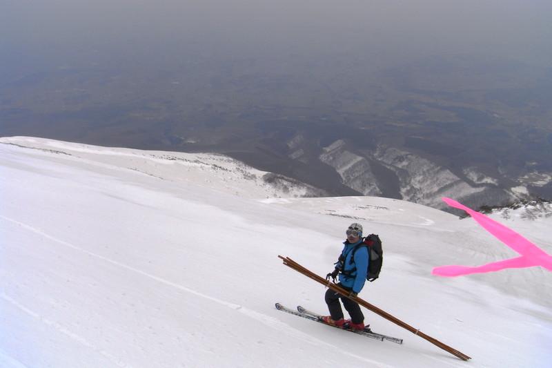 2011年岩木山春スキー 104
