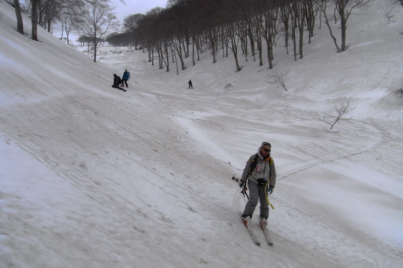 2011年岩木山春スキー 115