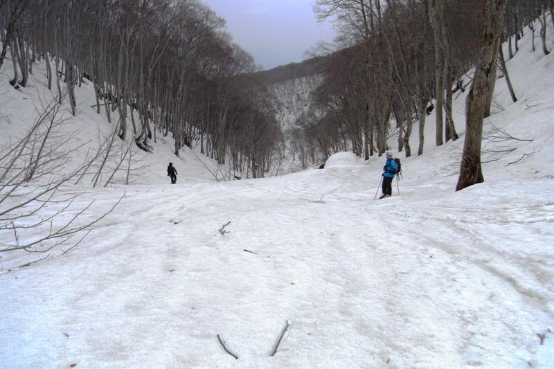 2011年岩木山春スキー 131