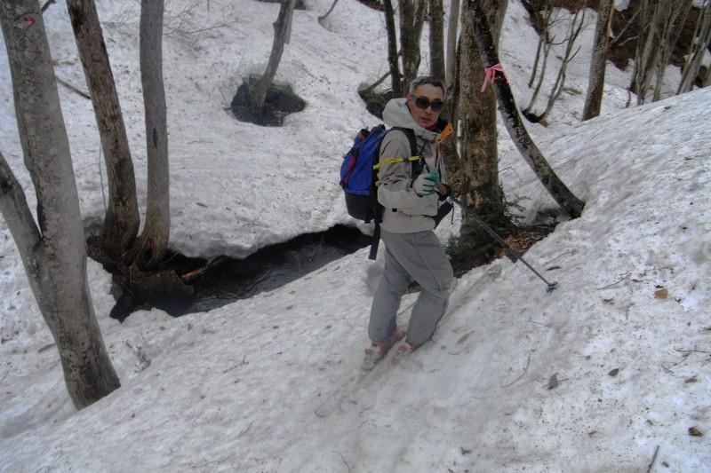 2011年岩木山春スキー 143