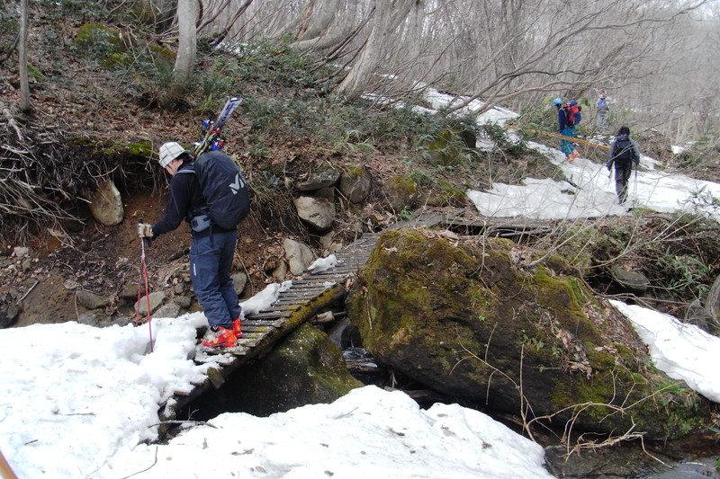 2011年岩木山春スキー 152