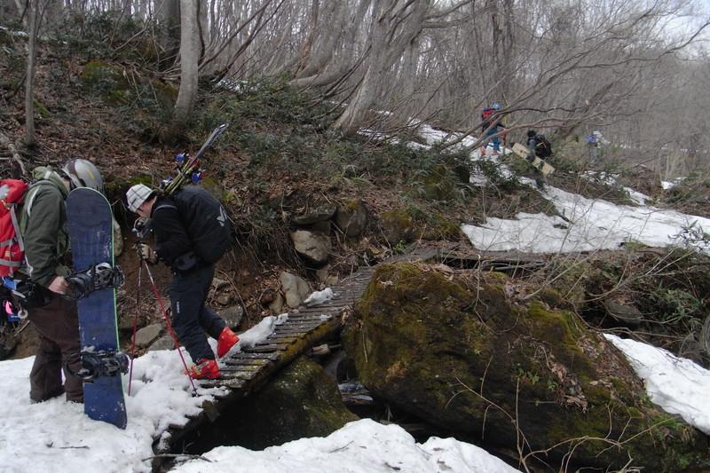 2011年岩木山春スキー 153