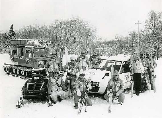 雪上車開始
