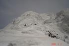 スキーコース巡回
