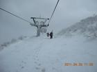 2011年岩木山春スキー 66