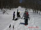 2011年岩木山春スキー 88